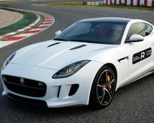 Photo: 2015 Jaguar F-Type R coupe