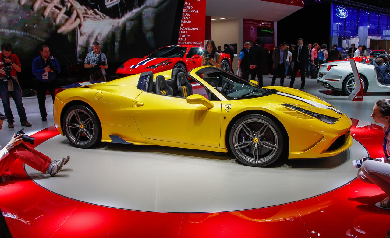 Preview: New 2015 Ferrari 458 Speciale A