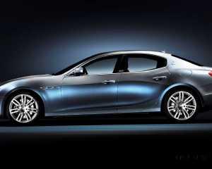 Side Profile: 2015 Maserati Ghibli
