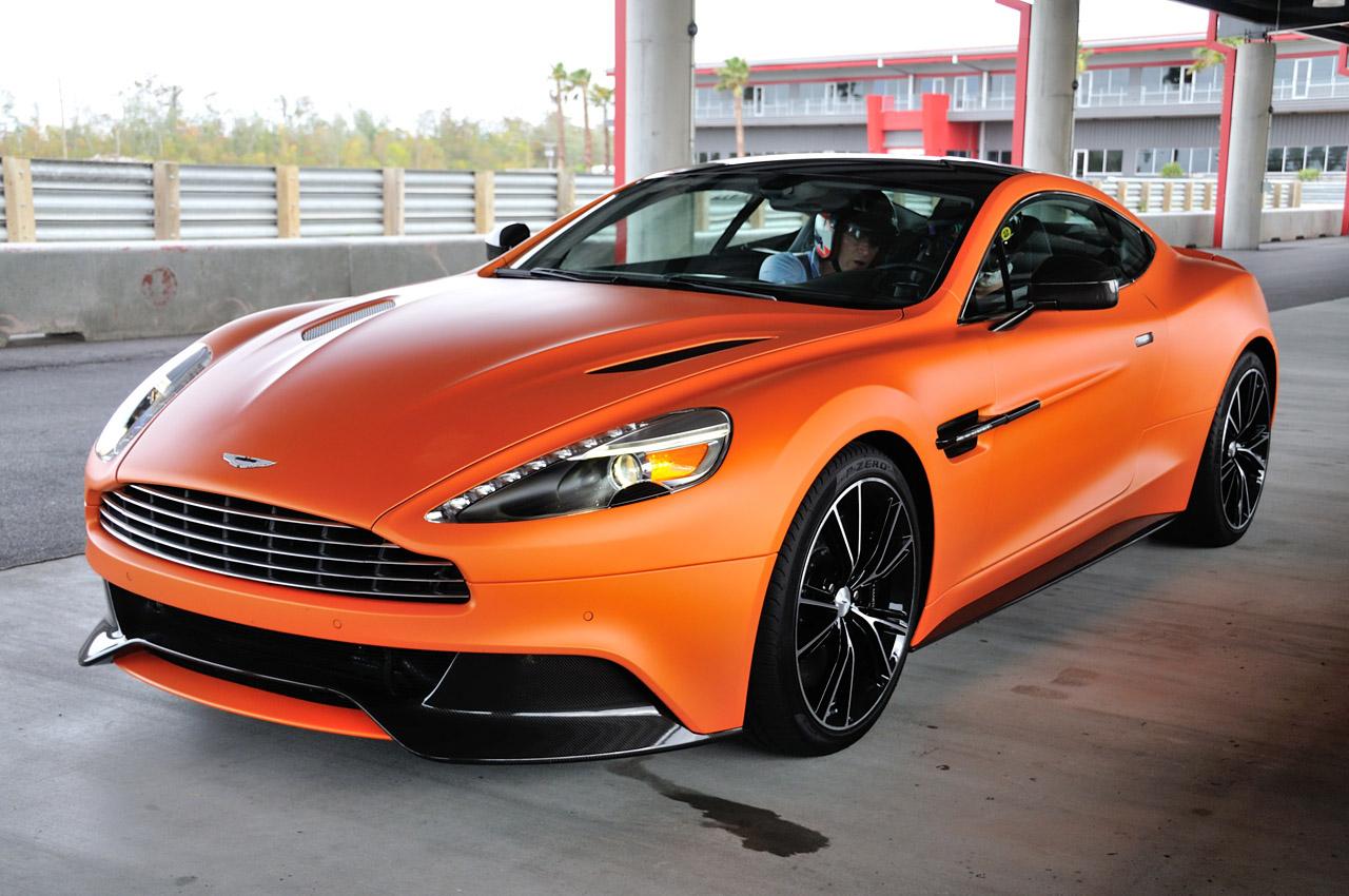 The 2014 Aston Martin Vanquish