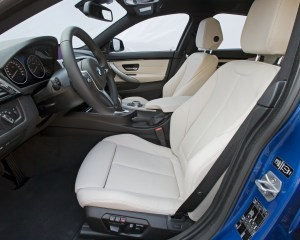 2015 BMW 428i Gran Coupe Interior Front Seats