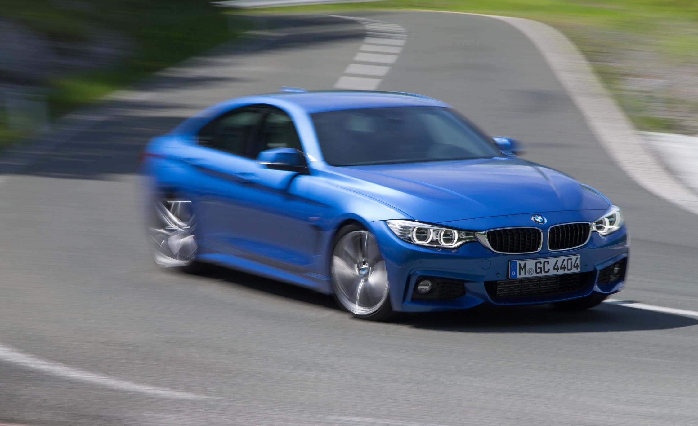 2015 BMW 428i Gran Coupe Test Cornering