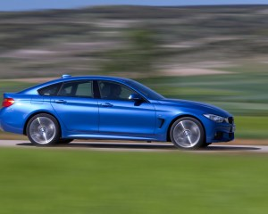 2015 BMW 428i Gran Coupe Test Side View
