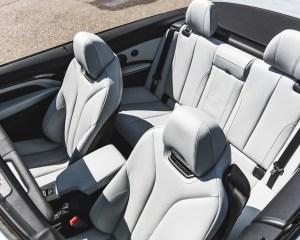 2015 BMW M4 Convertible Interior Seats