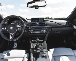 2015 BMW M4 Convertible Interior