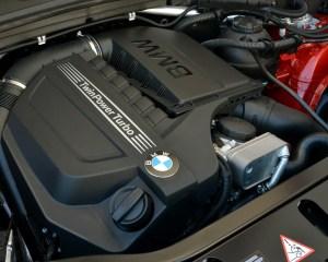 2015 BMW X4 xDrive35i Turbocharged 3.0-Liter Engine