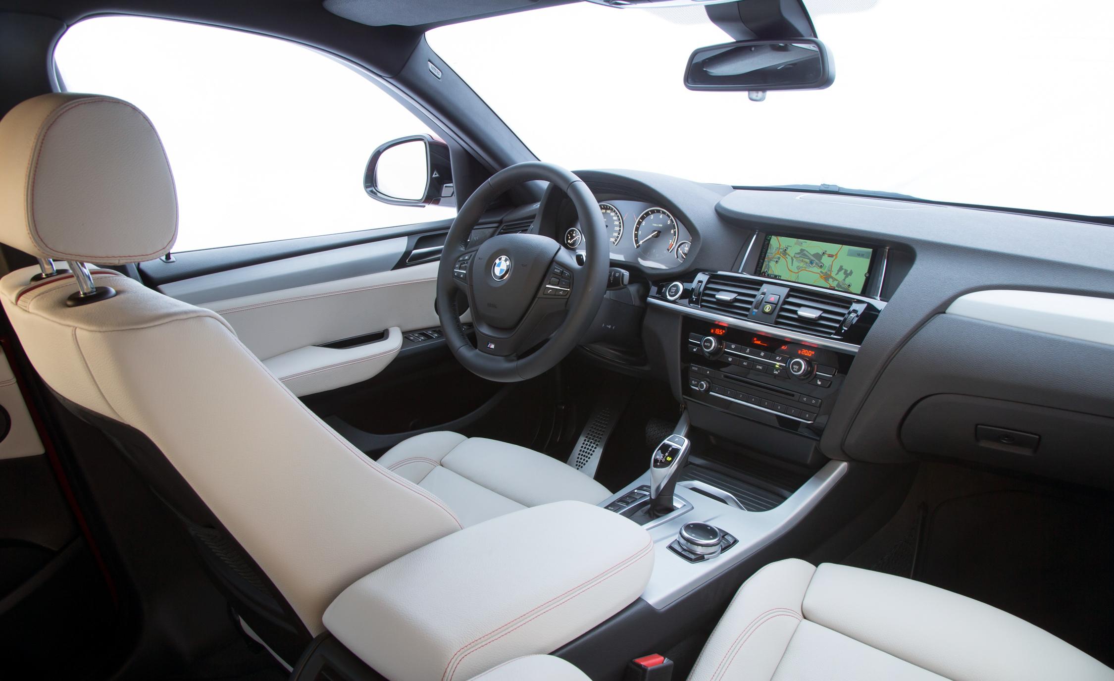 2015 BMW X4 xDrive35i Interior Cockpit