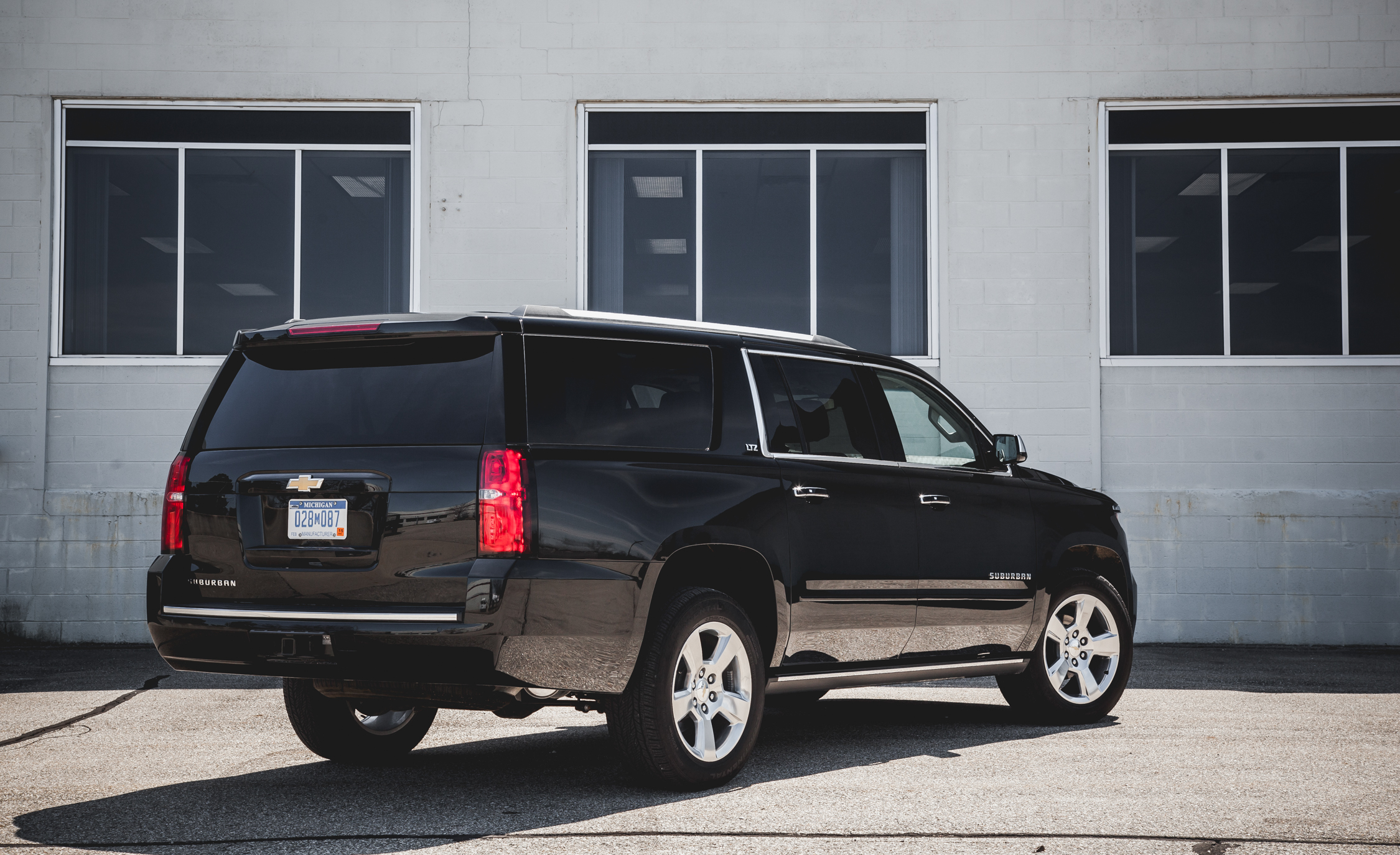 2015 Chevrolet Suburban LTZ Exterior Body Rear and Side