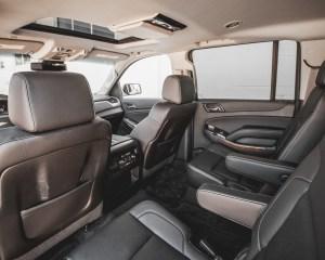 2015 Chevrolet Suburban LTZ Interior 2nd Row