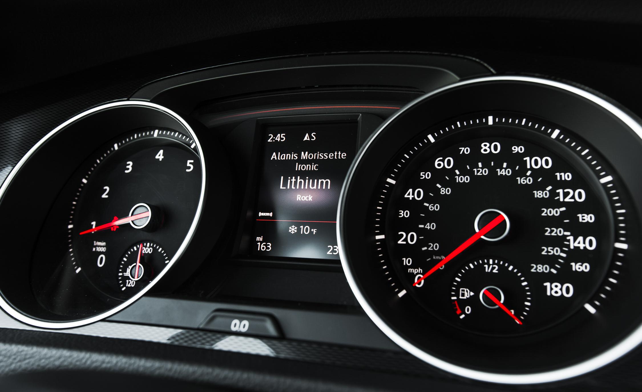 2015 Volkswagen GTI Interior Speedometer
