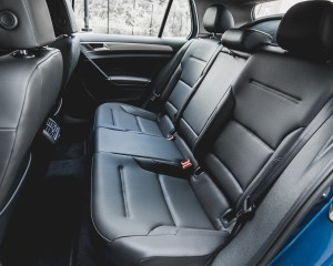 2015 Volkswagen Golf TSI Interior Rear Seats