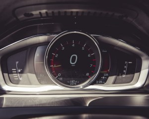 2015 Volvo V60 Interior Speedometer