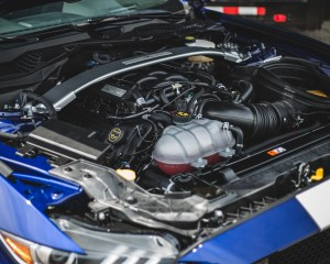 2016 Ford Mustang Shelby GT350R 5.2-liter V-8 engine