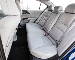 2016 Honda Accord EX Interior Rear Passengers Seats