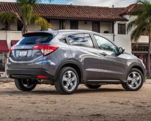 2016 Honda HR-V EX-L AWD Exterior Rear and Side