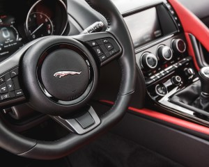2016 Jaguar F-Type S Coupe Interior Steering