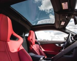 2016 Jaguar F-Type S Coupe Interior Sun Roof