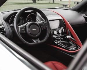 2016 Jaguar F-Type S Coupe Interior