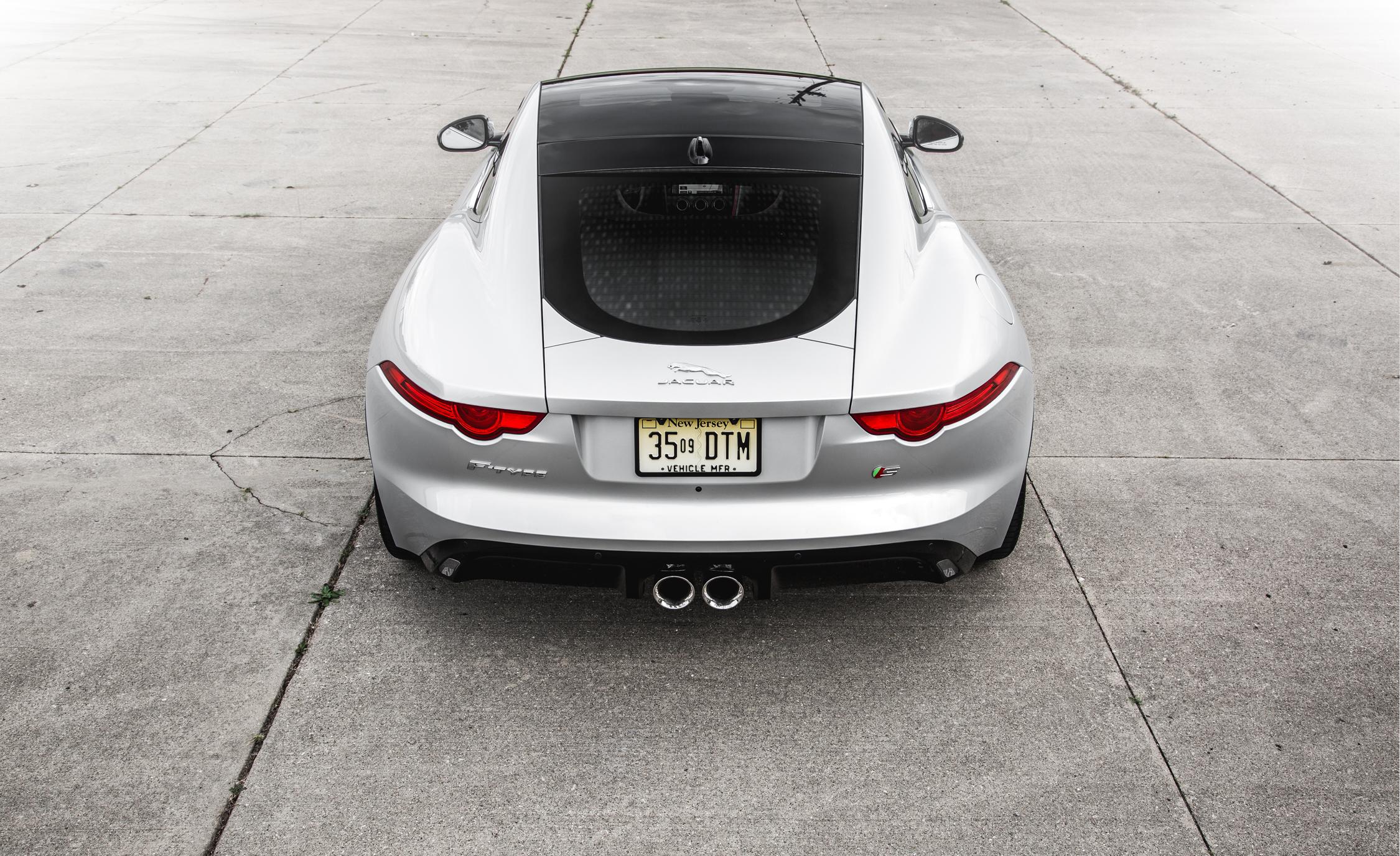 2016 Jaguar F-Type S Exterior Rear