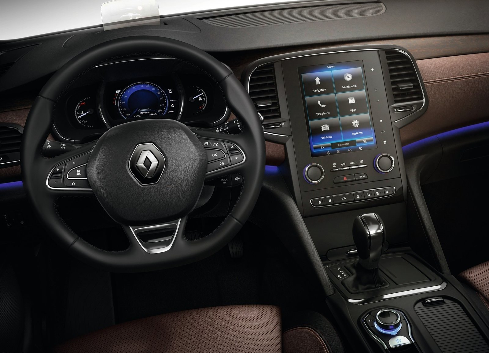 2016 Renault Talisman Cockpit and Dashboard