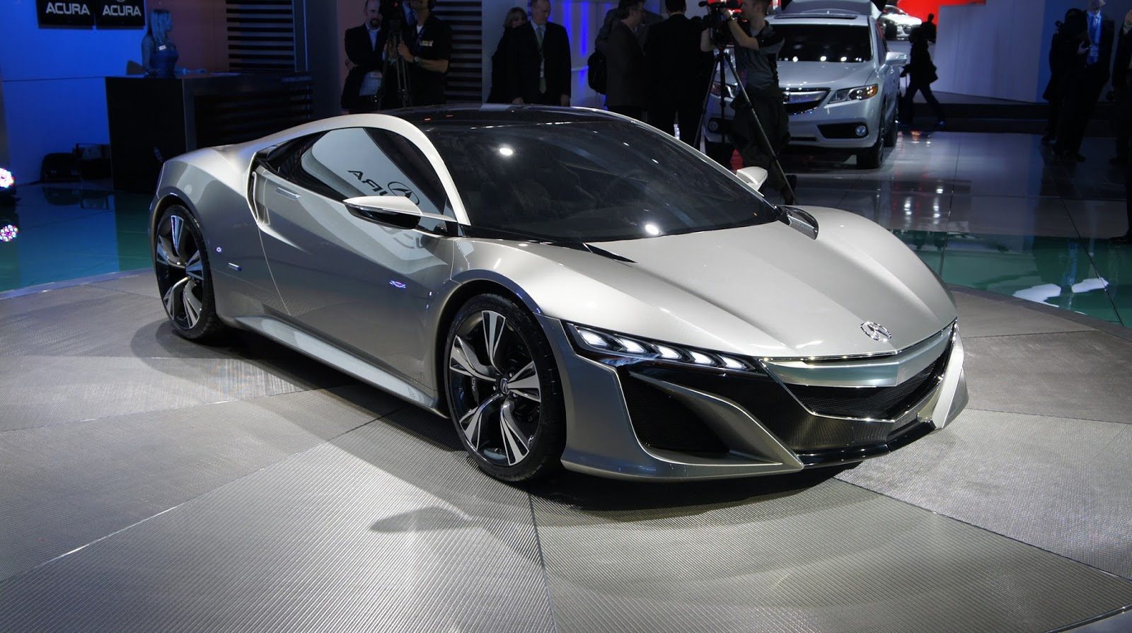 2016 Acura NSX Roadster with Hybrid Powertrain