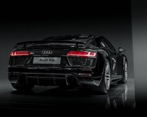 Audi R8 V10 Plus Mythos Black Metalic Rear Exterior