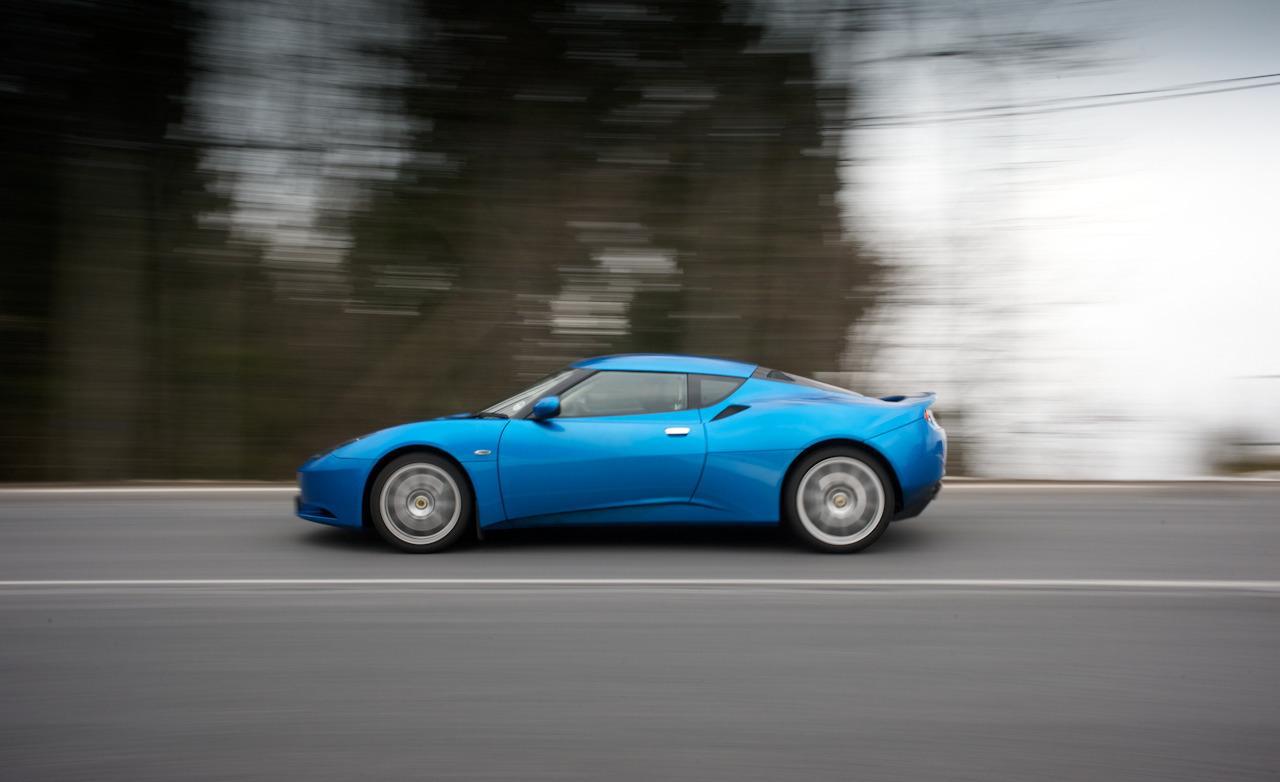 (Blue) 2010 Lotus Evora