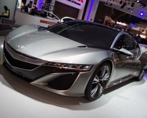 Exterior Design: 2016 Acura NSX