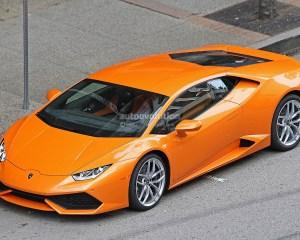Exterior of Lamborghini Huracan