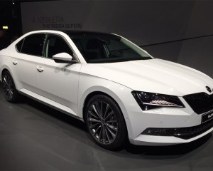 Exterior Preview: 2016 Skoda Superb