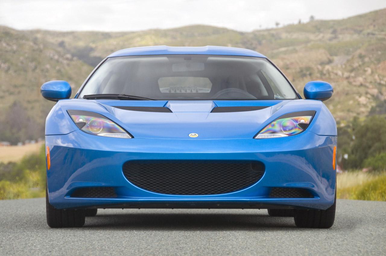 Front Side: 2010 Lotus Evora