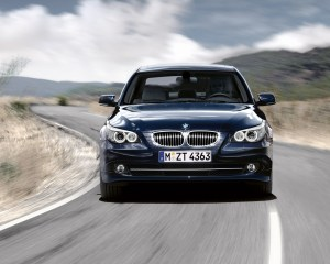 Front View: 2015 BMW 5 Series