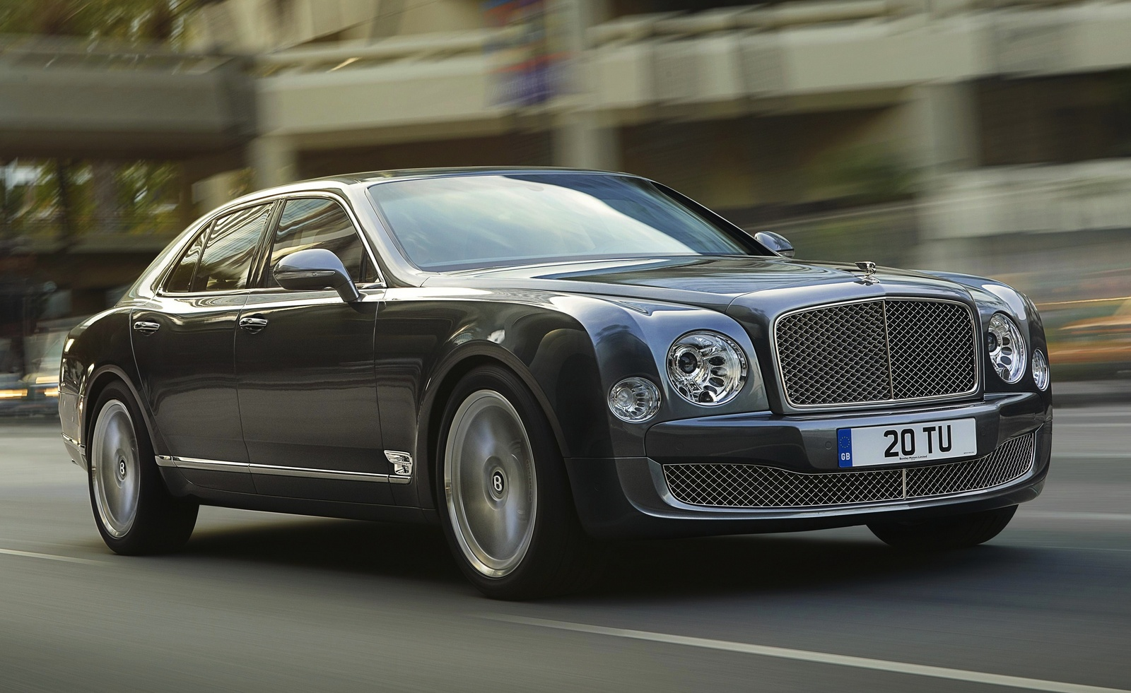 Performance: 2015 Bentley Mulsanne