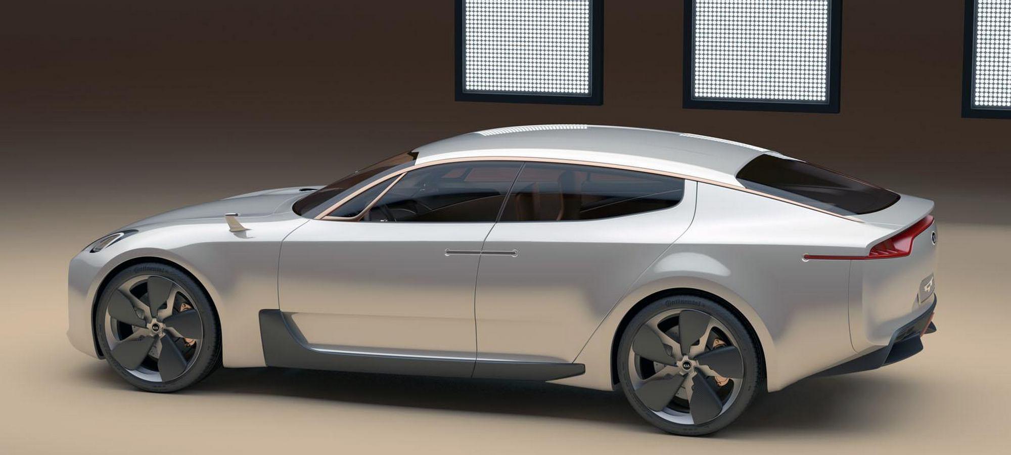 Side Profile: Kia GT Concept