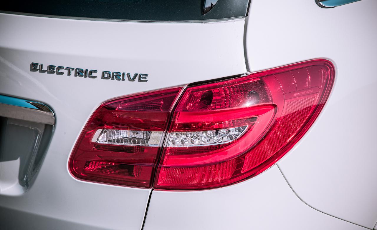 2014 Mercedes-Benz B-Class Exterior Taillight