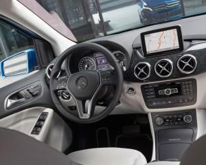 2014 Mercedes-Benz B-Class Interior Front