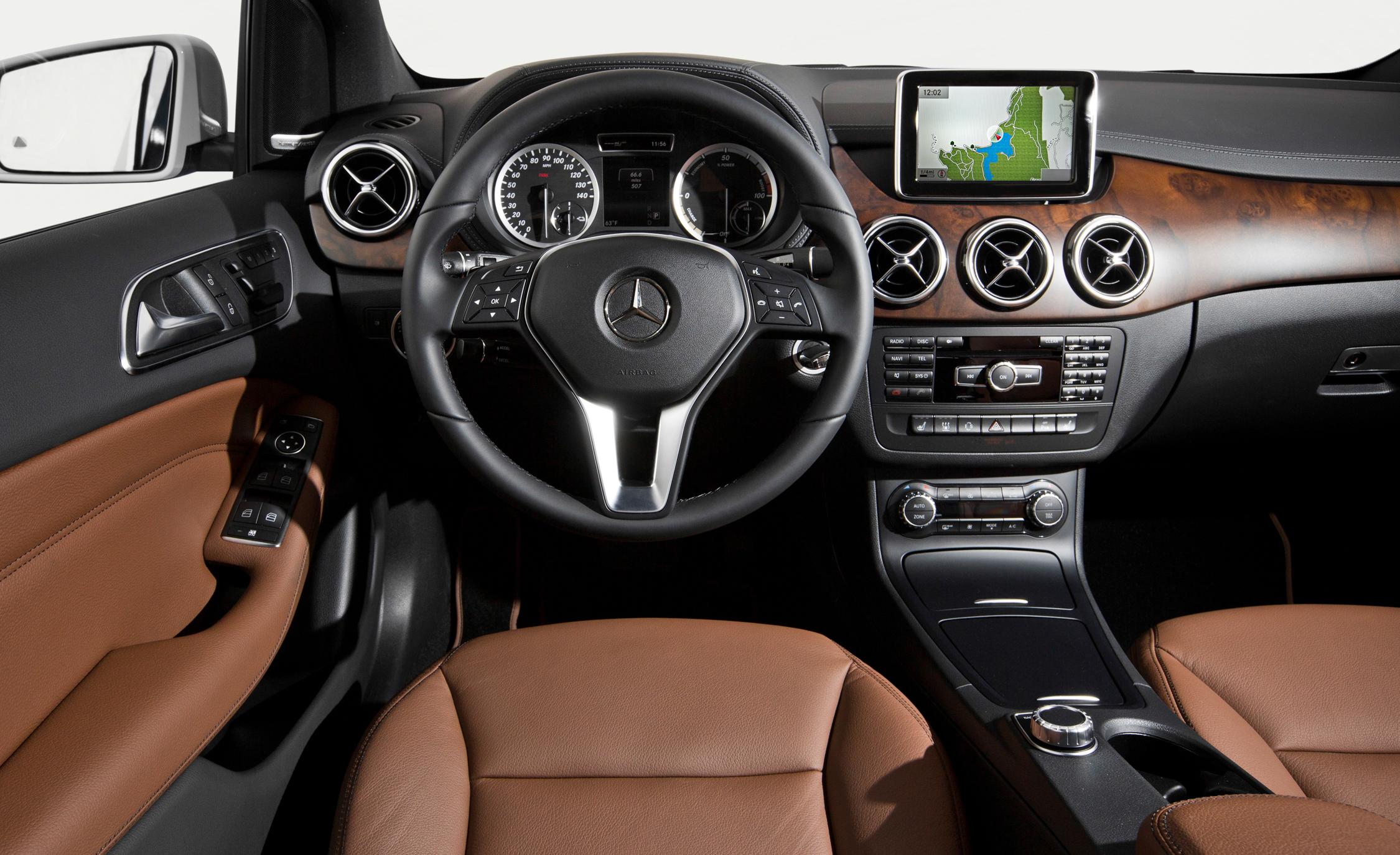 2014 Mercedes-Benz B-class Electric Drive Interior Steering Wheel