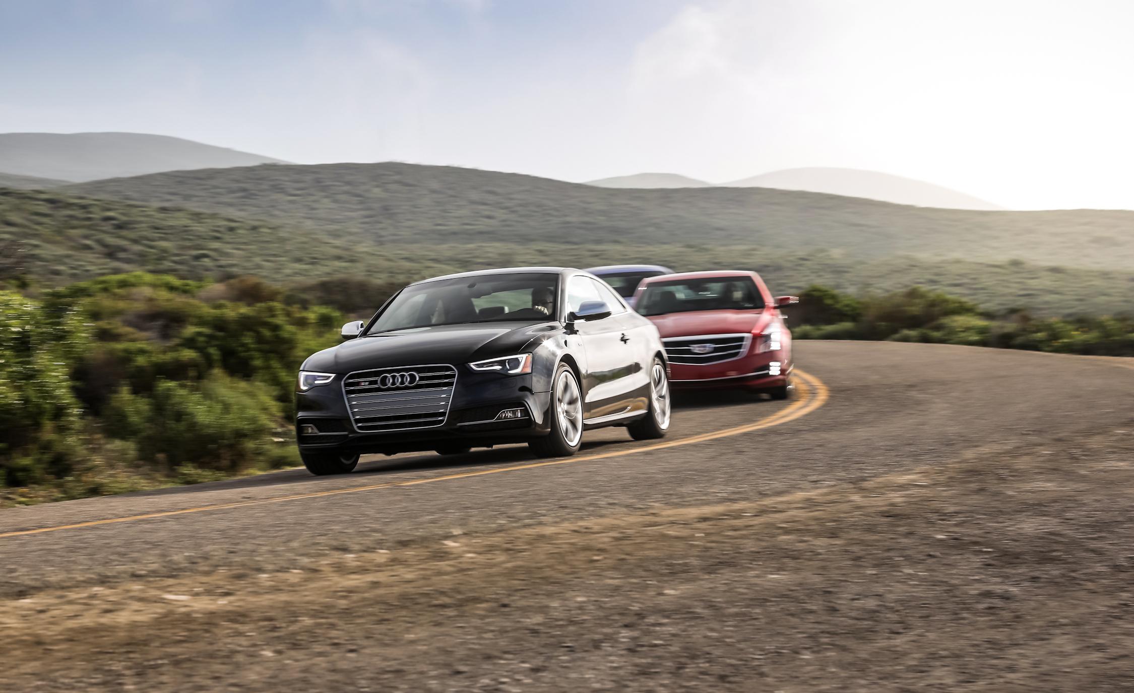2015 Audi S5 Performance Test