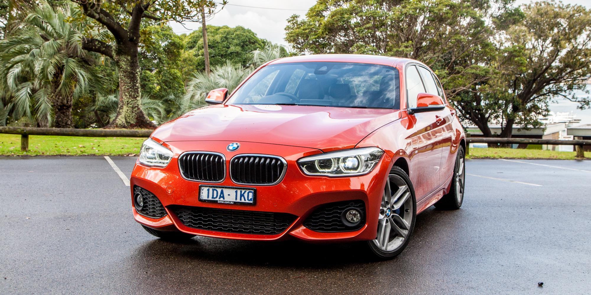2015 BMW 125i Front