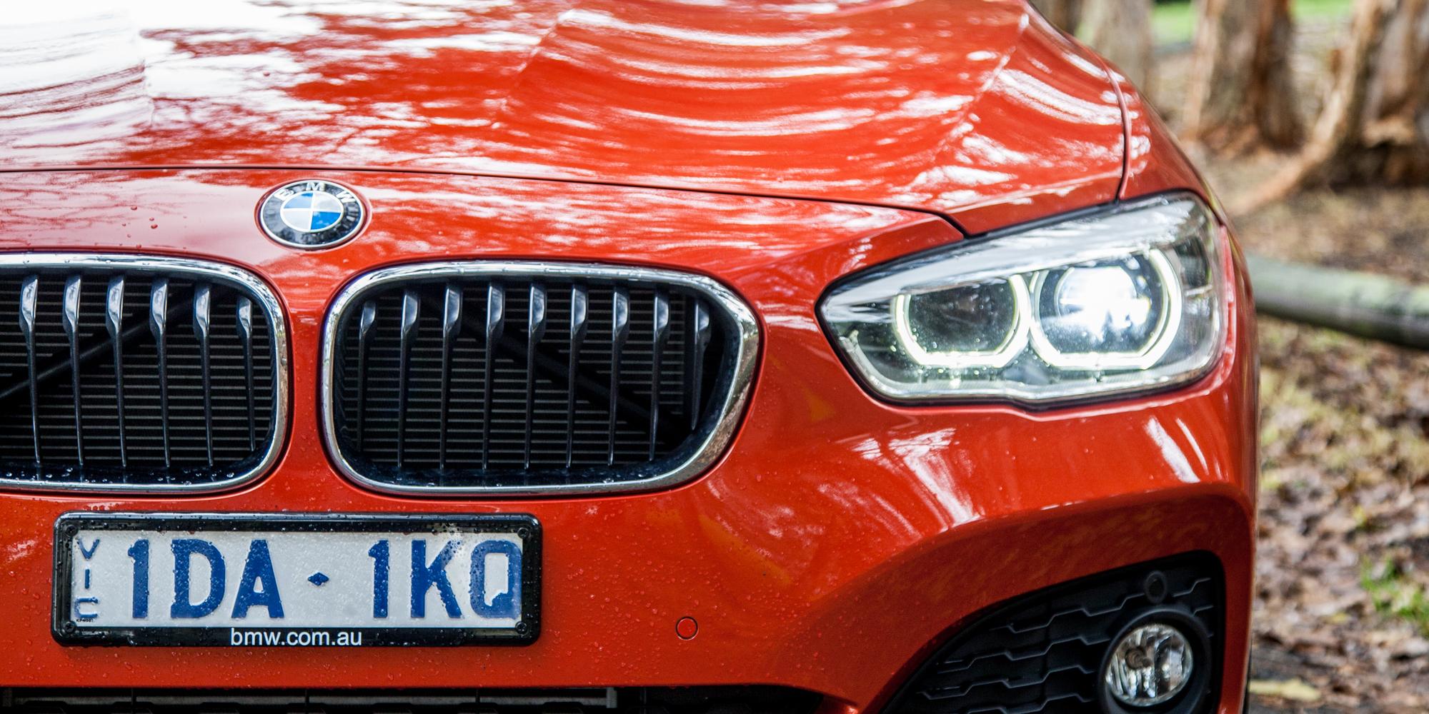2015 BMW 125i Headlamp