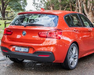 2015 BMW 125i Rear Side