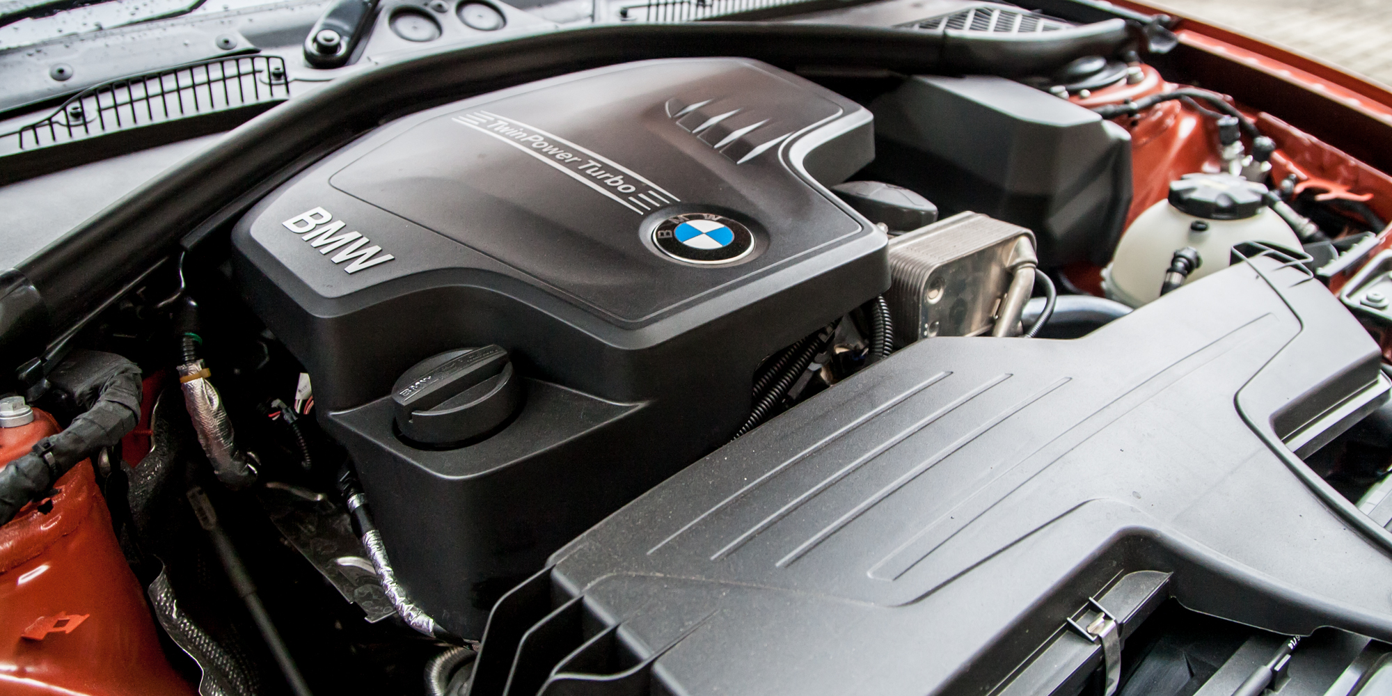 2015 BMW 125i Turbocharged 2.0-Liter Engine
