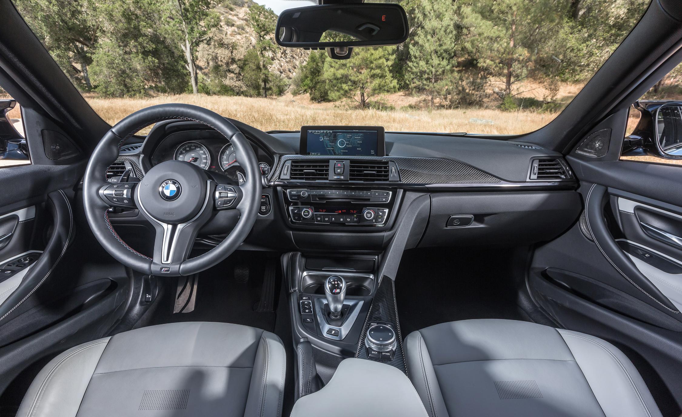 2015 BMW M3 Interior Cockpit and Dashboard