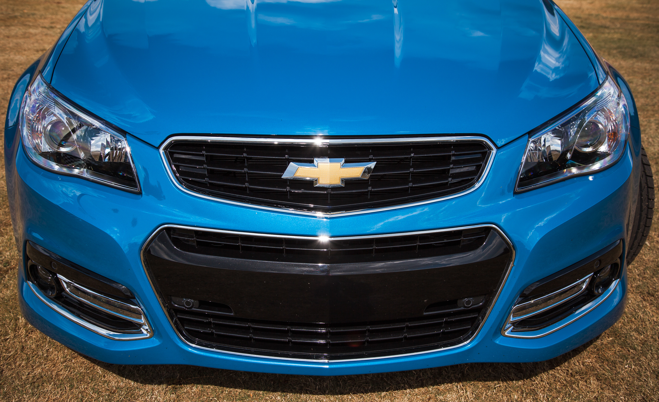 2015 Chevrolet SS Exterior Front Bumper and Grille