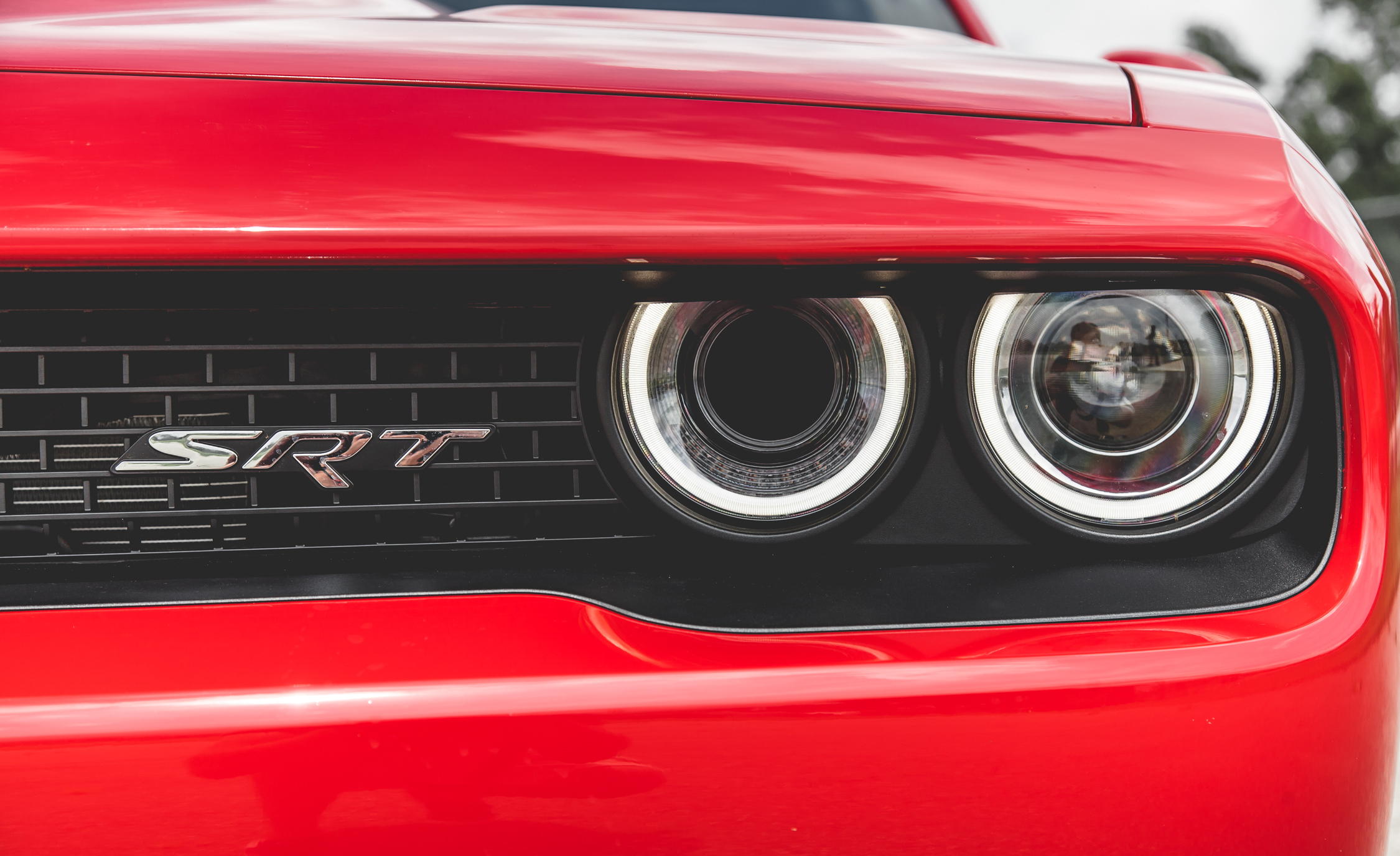 2015 Dodge Challenger SRT Hellcat Exterior Headlight