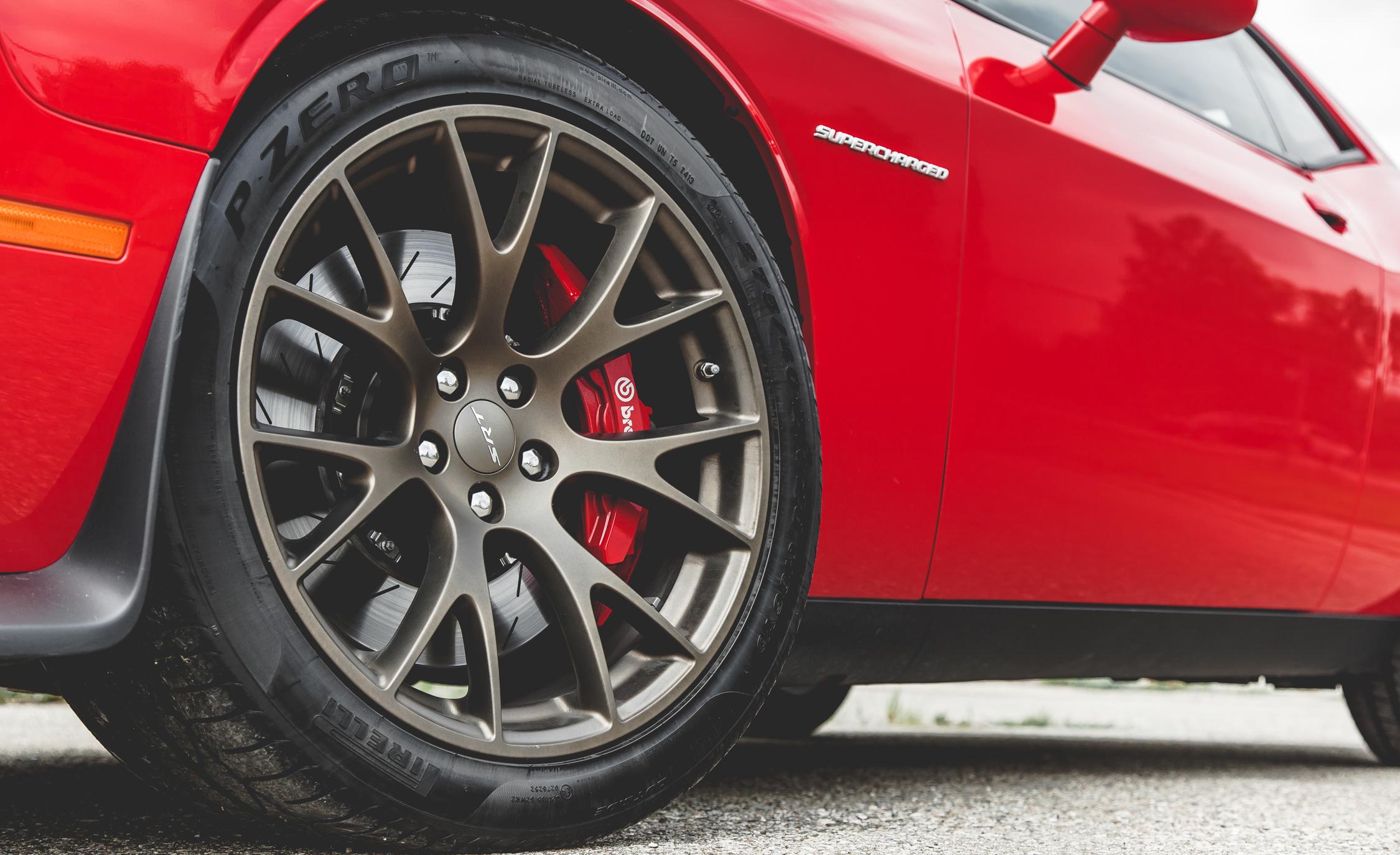 2015 Dodge Challenger SRT Hellcat Exterior Wheel