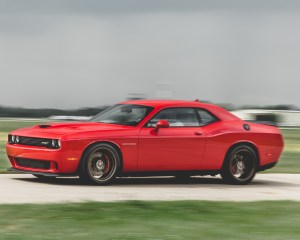 2015 Dodge Challenger SRT Hellcat Test Front and Side View