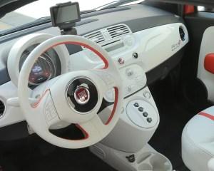 2015 FIAT 500e Interior