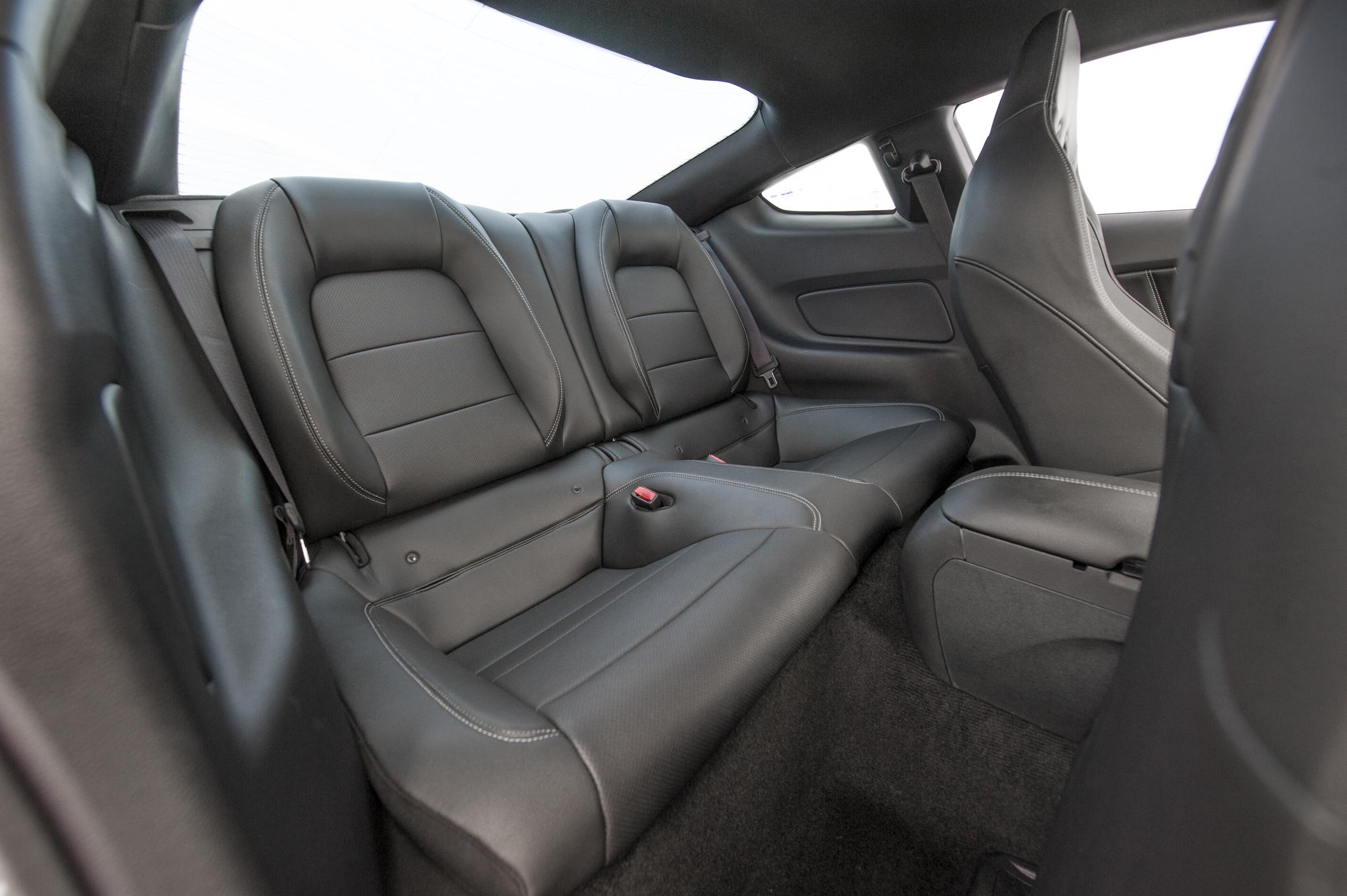 2015 Ford Mustang GT Rear Seats Interior