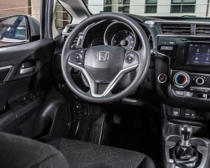 2015 Honda Fit Interior Cockpit